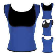 Load image into Gallery viewer, Sweat Shaper Sauna Vest for Women Body Shaper Slimming Waist Excercise Top