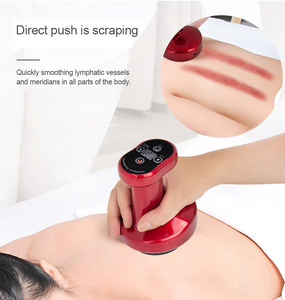 Gua Sha Muscle Scraping Massage Therapy Plus Cupping Massage Suction Cup Therapy Massager with Heat