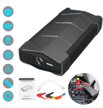 Load image into Gallery viewer, Portable Car Jump Starter, Multi Function Power Bank Jump Starter for Cars and Charge with SOS Flash Light Battery Booster with Smart Charging Port