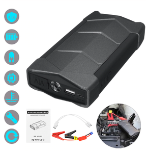 Portable Car Jump Starter, Multi Function Power Bank Jump Starter for Cars and Charge with SOS Flash Light Battery Booster with Smart Charging Port