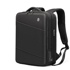 Smart Backpack Expandable USB Charging Travel Backpack Multi-layer High Capacity