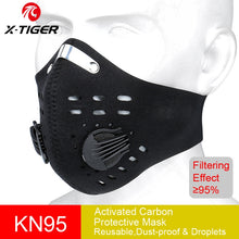 Load image into Gallery viewer, KN95 Face Mask PM 2.5 5-layer 32-Days Protection Face Mask Ships with DHL