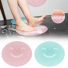 Load image into Gallery viewer, Bathtub Mat Foot Scrubber Silicone Non Slip