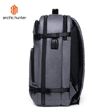 Load image into Gallery viewer, Smart Backpack Travel Waterproof Laptop Large Capacity Carrier USB Arctic Hunter