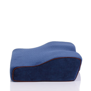Cervical Spine Relaxing Memory Foam Pillow Back Support for Back Sleepers