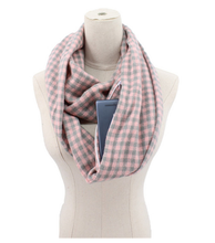 Load image into Gallery viewer, Scarf With Pocket Women Wrap Zipper Pocket Scarves