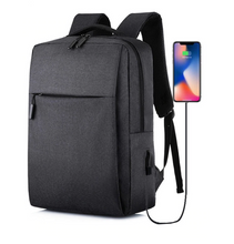 Load image into Gallery viewer, Smart Backpack USB Book Bag Everyday Simple Design 15.6 Laptop Carry