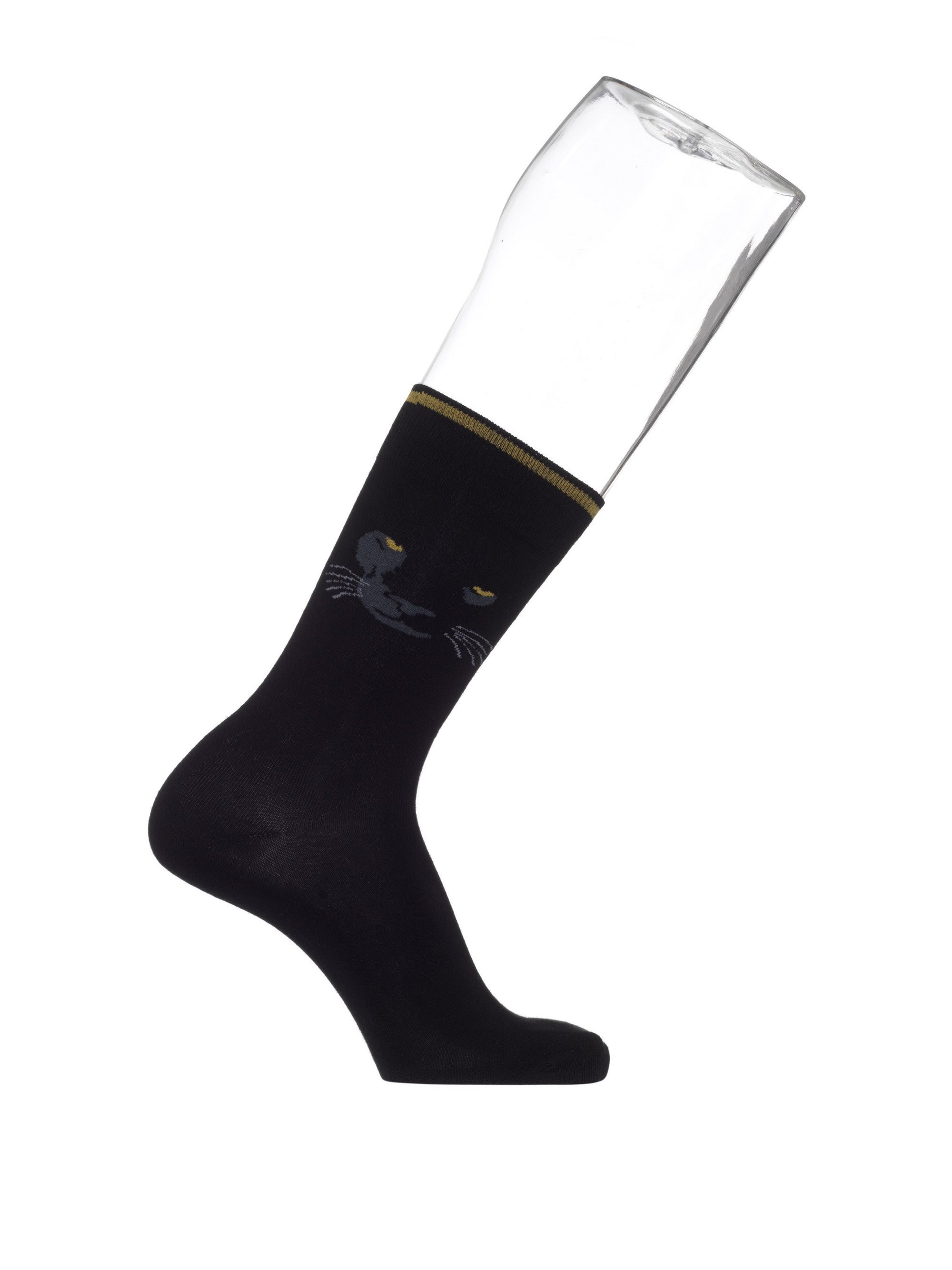 Black Panther Sock BN952130 Black Panther Sock BN952130 - Jambelles Bonnie Doon 40-46 / Black Black