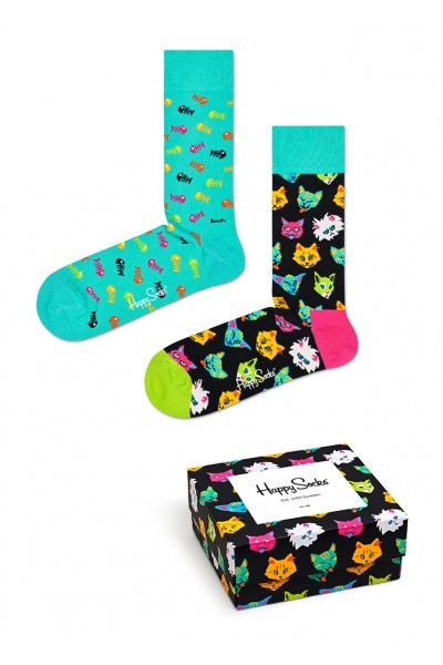 Cat Gift Box XCAT02 Cat Gift Box XCAT02 - Jambelles Happy Socks 36-40 / 6300 kleur
