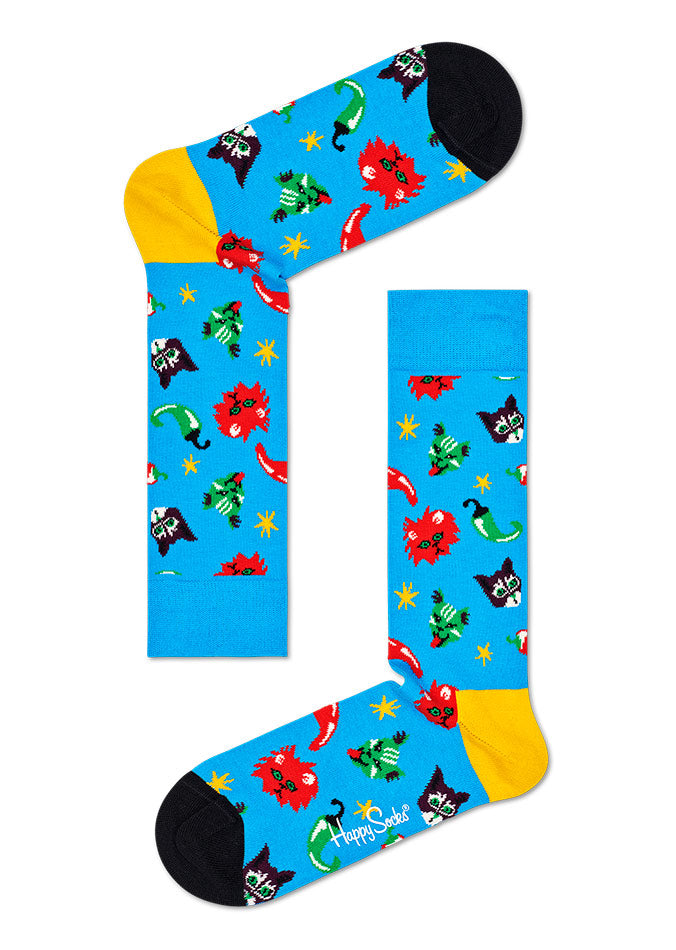 Chilicat Socks CHC01 Chilicat Socks CHC01 - Jambelles Happy Socks 36-40 / 6300 Blue