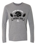 Prairie Hawks Football - Premium Heather - Adult