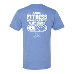 MAC and La Cantina Fitness - Athletic Blue T-Shirt