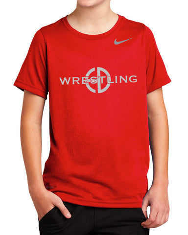 HDW - Nike Youth Red T-Shirt