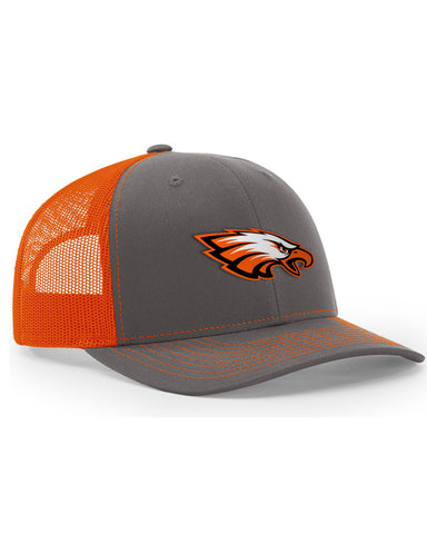 Prairie Hawks Hat - Charcoal/Orange - Limited Quantities
