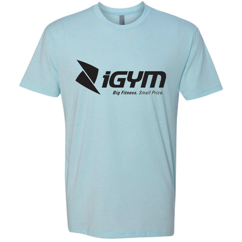 iGYM T-shirt - Ice Blue