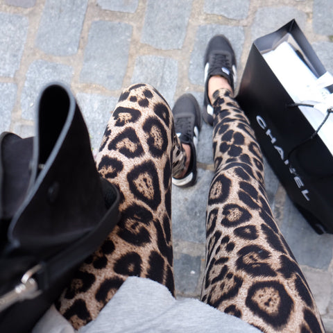 HELLO PARRY LEOPARD LEGGING