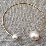 Pandora Double Pearl Choker Necklace - HELLO PARRY Australian Fashion Label