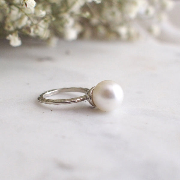 Alina Pearl Knuckle Ring - HELLO PARRY Australian Fashion Label