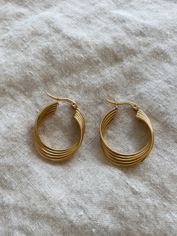 Amy Twist Hoops