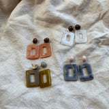 Claudia Acetate Earrings
