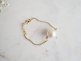 Daphnis Pearl Fine Gold Bracelet - HELLO PARRY Australian Fashion Label