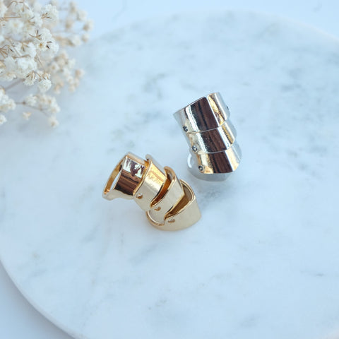 Gold Finger Armor Ring - HELLO PARRY Australian Fashion Label