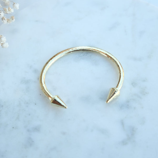 Double Header Spike Bracelet - HELLO PARRY Australian Fashion Label