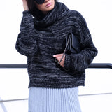 Naia Oversized Turtleneck Knit - HELLO PARRY Australian Fashion Label