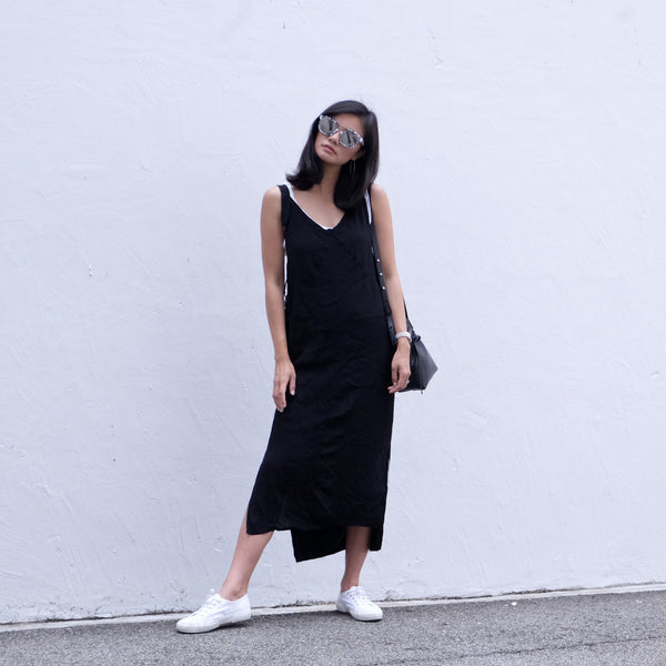 Billie Double Layer Slip Dress