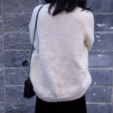 Samantha Hand Knitted Chunky Cardigan (Ship After 20th July)