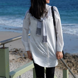 Harper Wrap Around Sleeve Shirt - HELLO PARRY Australian Fashion Label
