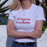 SUNSHINE & RAINBOW TEE