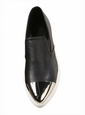Emmalyn Metal Pointed Slip On Shoes - HELLO PARRY Australian Fashion Label