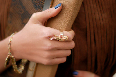 HELLO PARRY little Bird Ring - HELLO PARRY Australian Fashion Label