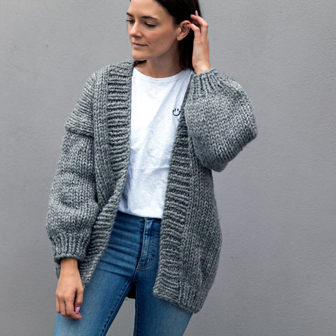 Tobey Hand knitted Chunky Cardigan