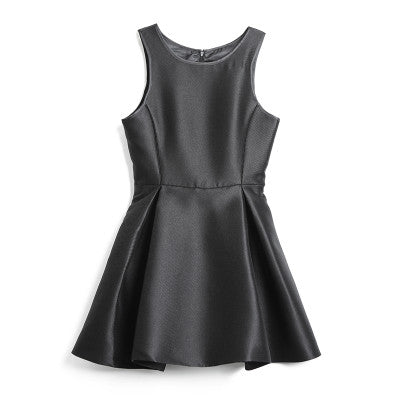 Jasmin Sleeveless Flare Dress - Black - HELLO PARRY Australian Fashion Label