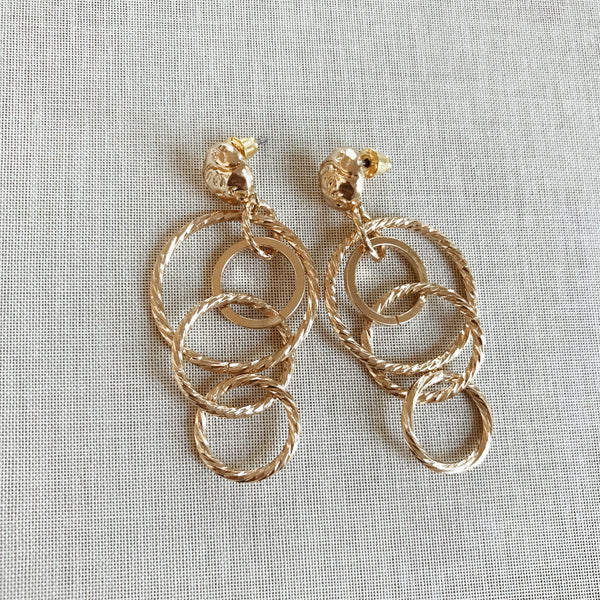 OLIVA STATEMENT EARRINGS