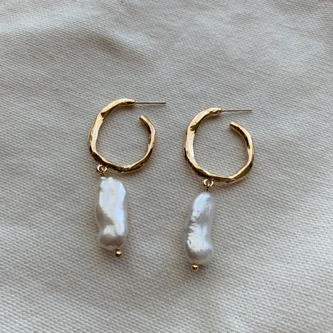 Lila Statement Earrings