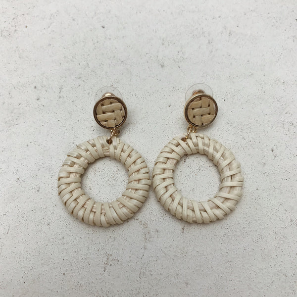 Matteo Ivory Earrings - Small