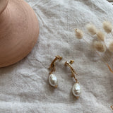 Alessandra Pearl Earrings