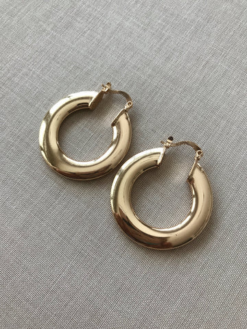 Wenni Smooth Round Hoops