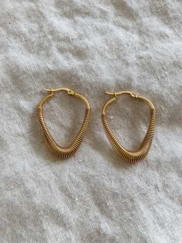 Kyra Coil Hoops