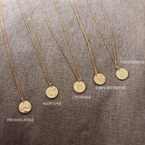 Gold Empowerment 18K Necklace