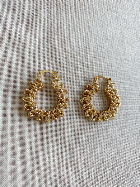 Kayla Chain Link Luxe Earrings