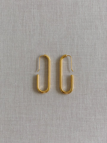 Eden Pin Luxe Earrings