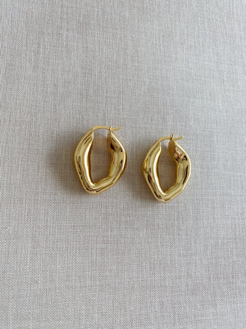 Genevieve Smooth Luxe Earrings