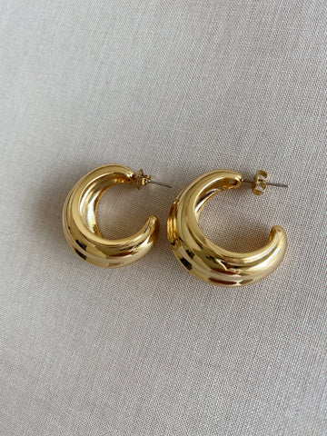 Danni Smooth Luxe Earrings