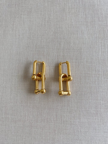 Nina Link Luxe Earrings