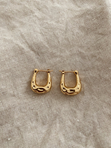 Jordan Hoop Luxe Earrings