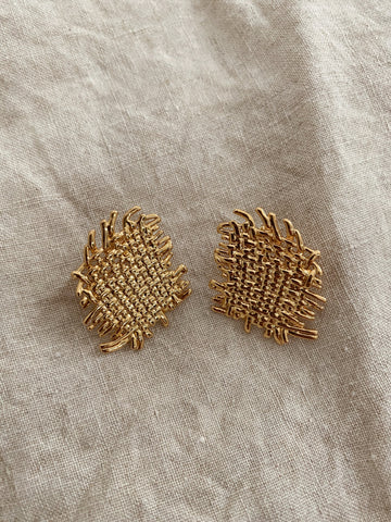 Delia Woven Luxe Earrings